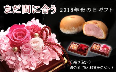 2018年母の日限定和菓子セット