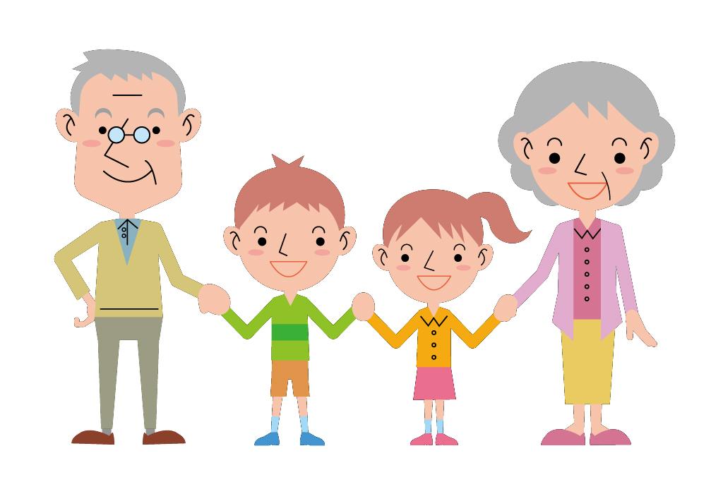 敬老の日はおじいちゃんおばあちゃんに会いに行こう