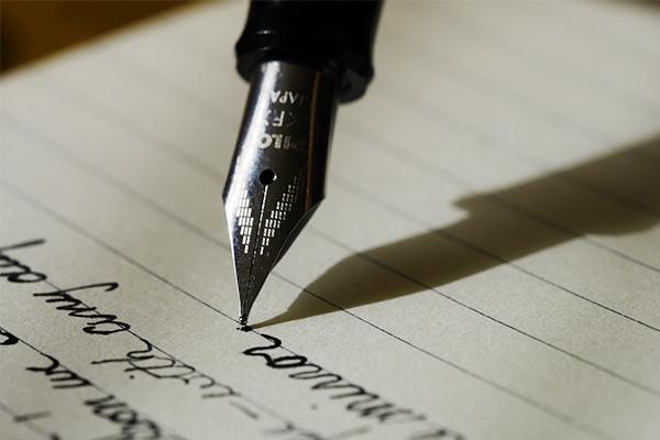 万年筆のペン先の太さは中字〜細字がおすすめ