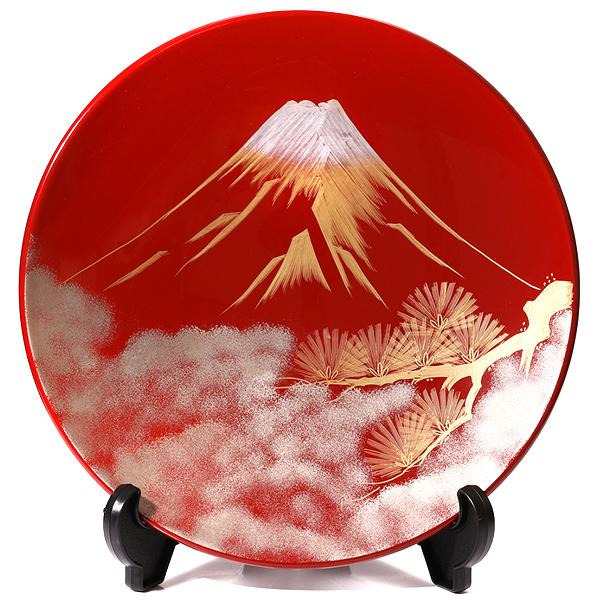 飾皿 富士に松(法人ギフト・海外ギフト)