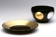 Bowl & Plate Set 日月(小)セット